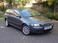EXCELLENT DIESEL ESTATE!!! 56 REG VOLVO V50 2.0 D S 5dr, LONG MOT, FULL LEATHER,