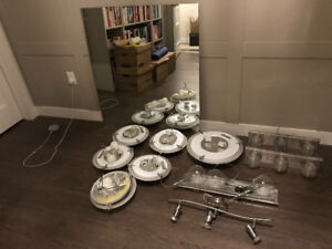 Landlord Alert! Batch of new light fixtures!