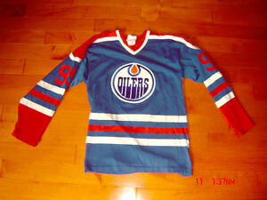 Rare 1980's Wayne Gretzy Edmonton Oilers 99 SandowSK Jersey