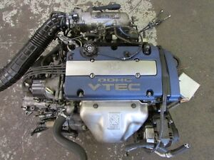 JDM Honda Accord F20B OBD2 Blue Top 1999 Engine LSD Transmission