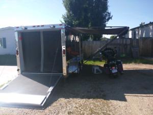Cargo trailer 7x14 V nose