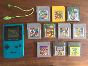 Nintendo gameboy color bundle with great games!