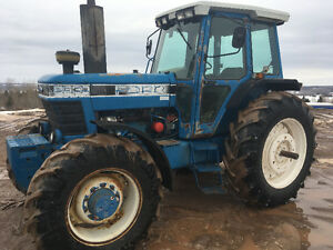 TRACTOR 8630 FORD