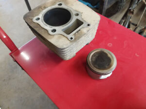 2002 Honda 350 fourtrax piston and cylinder