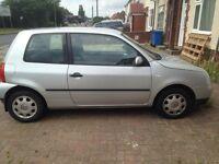 Volkswagen lupo 2003 1 litre low mileage £600 Ono