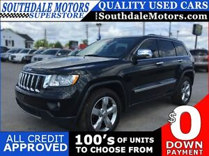 2011 JEEP GRAND CHEROKEE LIMITED * 4X4 * LEATHER * SUNROOF * NAV