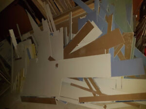 Lot of drywall of various sizes