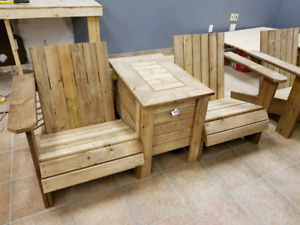 Camping bench or deck bench