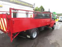 2012 12 FORD TRANSIT DROPSIDE 14FT WITH TAIL LIFT TWIN REAR WHEELS TURBO DIE