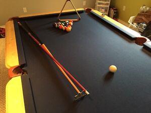 """""""Mr. Billiard"""" Custom Pool Table London Ontario image 1"""