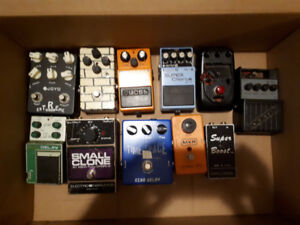 Pedals, Mixer and PA amp