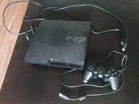 PS3 console with 23 top/new release games for sale!