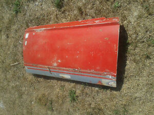 Original right side used door from a 1963-66 Dodge Dart (D-002)