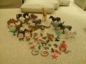 Plastic Animal figures