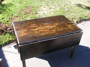Solid wood Drop Leaf Table and chairs