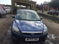 Ford Focus 1.6TDCi 110 ( DPF ) 2009.5MY Zetec / LOW MILEAGE / 30£ ROAD TAX