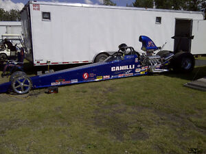 """240"""" UNDERCOVER DRAGSTER ROLLING CHASSIS"""