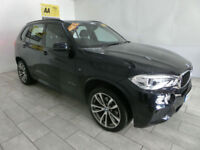 Black BMW X5 3.0TD 258bhp Auto xDrive M Sport ***FROM ONLY £590 PER MONTH***