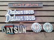 Datsun 180B Badge Set x 6 Bentleigh Glen Eira Area Preview