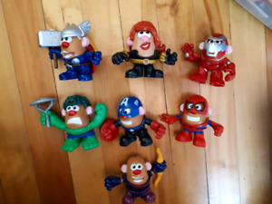 Lot de figurines Mr Patate