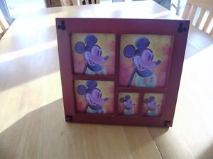 MICKEY MOUSE FRAME AND WATER BOTTLE Windsor Region Ontario image 1