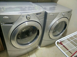 Whirlpool Washer and Gas Dryer Set Front Load Asking $1299