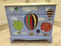 Stag 3 over 2 Chest of drawers in Annie Sloan Chalk Paint