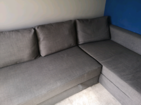Ikea Double Sofabed Friheten in Grey