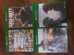 Xbox One Games $120 bundle or obo seperate.