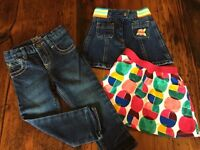 Girls fall/winter clothing - size 2t
