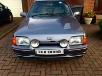 Escort rs turbo 90 spec G plate