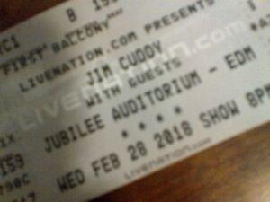 2 Hard Copy Tickets Jim Cuddy Band Jubilee Edmonton Feb 28