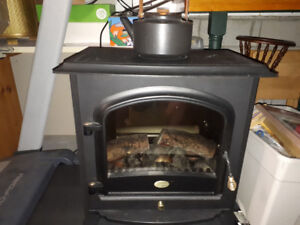 Electric Wood stove-style Space Heater