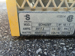 Construction  Heather 240 v, Yellow.Almost new Kitchener / Waterloo Kitchener Area image 2