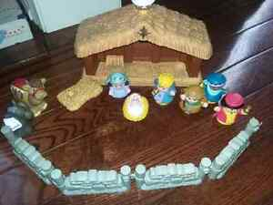 Little People musical Christmas Stable