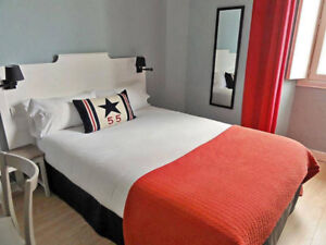 2 bedrooms condo at downtown,   furnished + wifi