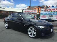 BMW 325i 2.5 SE COUPE **AUTO **LOW 78,986 MILES **LEATHER **XENONS **HPI CLEAR