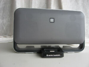 Altec Lansing M602 blk ( for ipod ), with remote