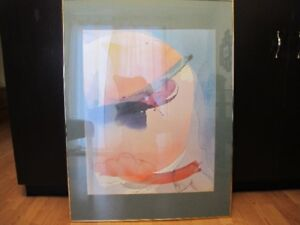 Abstract Framed Wall Art - NEW PRICE!