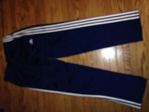 Adidas Pants Navy & W. Adult M -New
