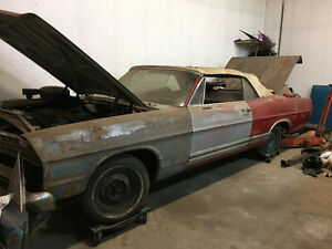 1967 Ford galaxie convertible resto project