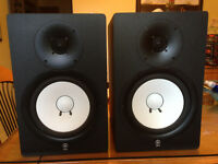 Moniteurs Yamaha HS80M Studio Monitors Speakers