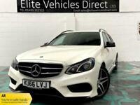 2016 Mercedes-Benz E-CLASS 2.0 E 220 D AMG LINE 4d 192 BHP Saloon Diesel Automat