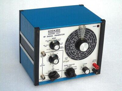 Vgc Hickok Electrical Instrument Usa Model 257 Rf Signal Generator Wave Band