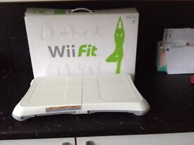 Nintendo wii fit board boxed