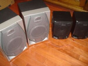 Sony Stereo Speakers