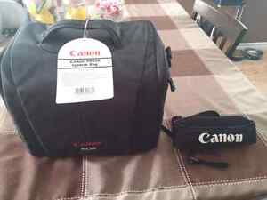 *Brand New* Canon camera bag and padded strap