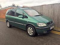 Vauxhall/Opel Zafira 2.0 Di 16v (a/c) Elegance 2000 110K LHD LEFT HAND DRIVE