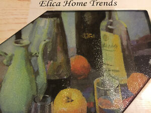 Glass Cutting Board Decorative Elica Home Trends Kitchener / Waterloo Kitchener Area image 4