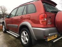 TOYOTA RAV4 AUTOMATIC WITH FULL SERVICE HISTORY